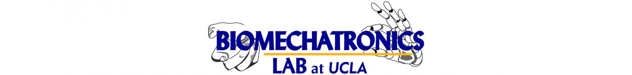 UCLA Biomechatronics Lab – Directed by Dr  Veronica J
