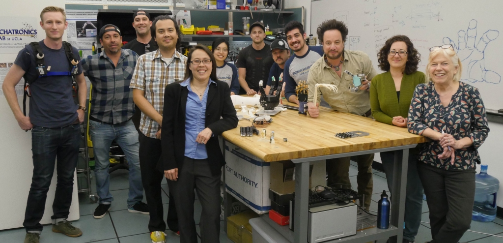 Biomechatronics Lab featured in Ancient Aliens episode on