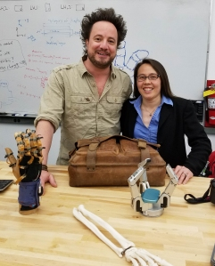 """Biomechatronics Lab featured in Ancient Aliens episode on """"The"""